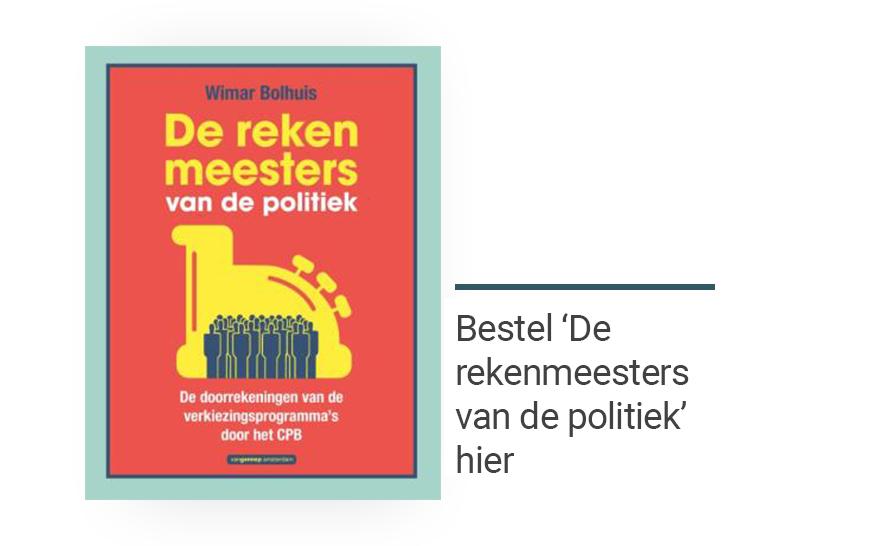 De rekenmeesters van de politiek, Wimar Bolhuis